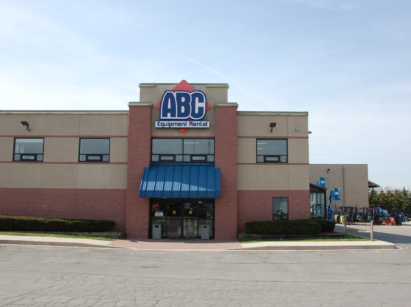 ABC Equipment Rental Store Front