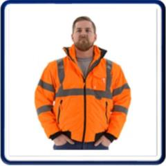 Rental store for JACKET, BOMBER 8-IN-1 ORANGE in Baltimore MD
